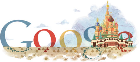 St. Basil's Cathedral Google Logo