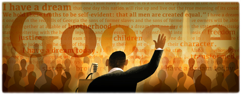 Google Logo For Martin Luther King I Have a Dream Speech