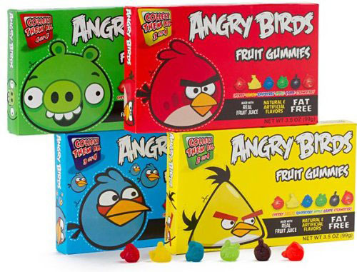 Angry Birds Fruit Gummy Candy