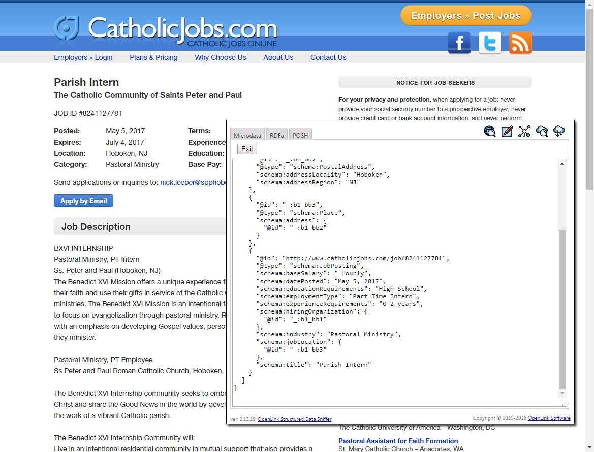 Google Job Search Portal To Be Powered Off Schema