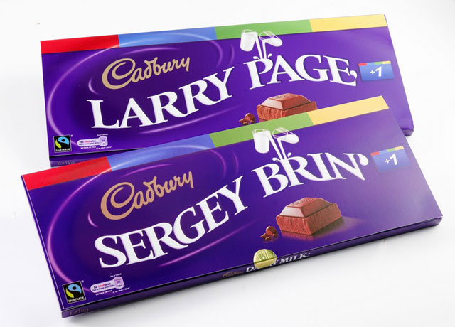 Cadbury Google + Bars
