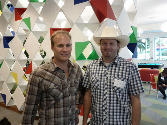 Cam Meadows & Brett Crosby At Google