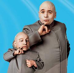 Dr. Evil & Mini Me