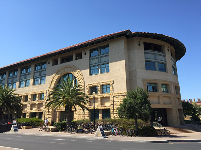 Google's Birthplace: The Gates Computer Science Building At Stanford