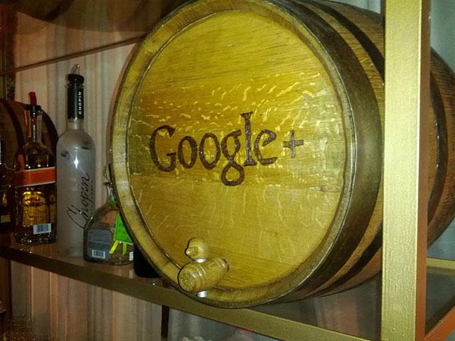 Google + Keg