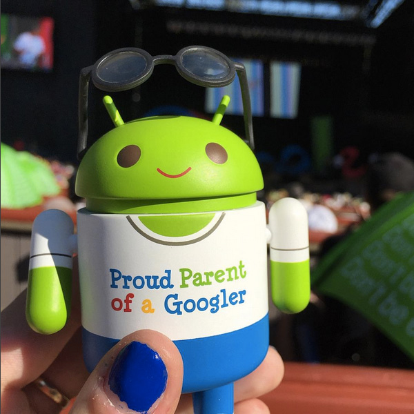 Google Parent Day Android Toy