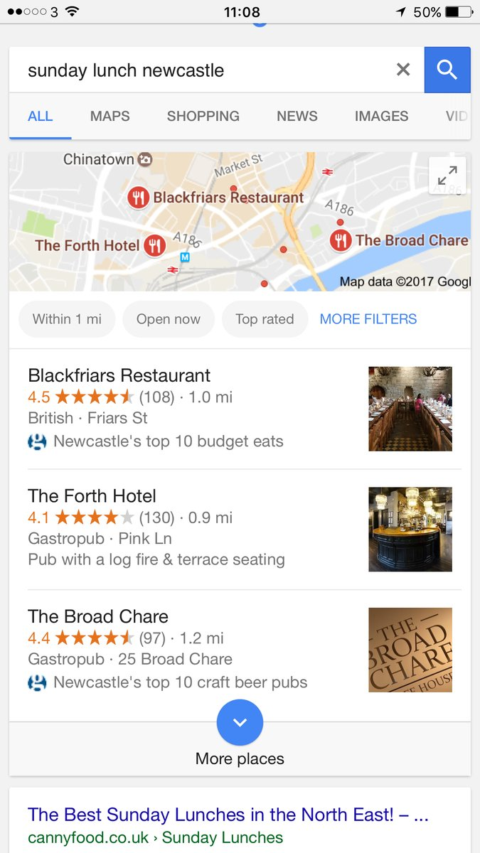 Google Local Reviews With Guardian Top Ten Icon