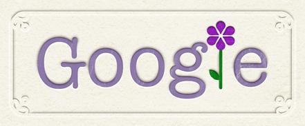 Google's Mother Day Logo 2011