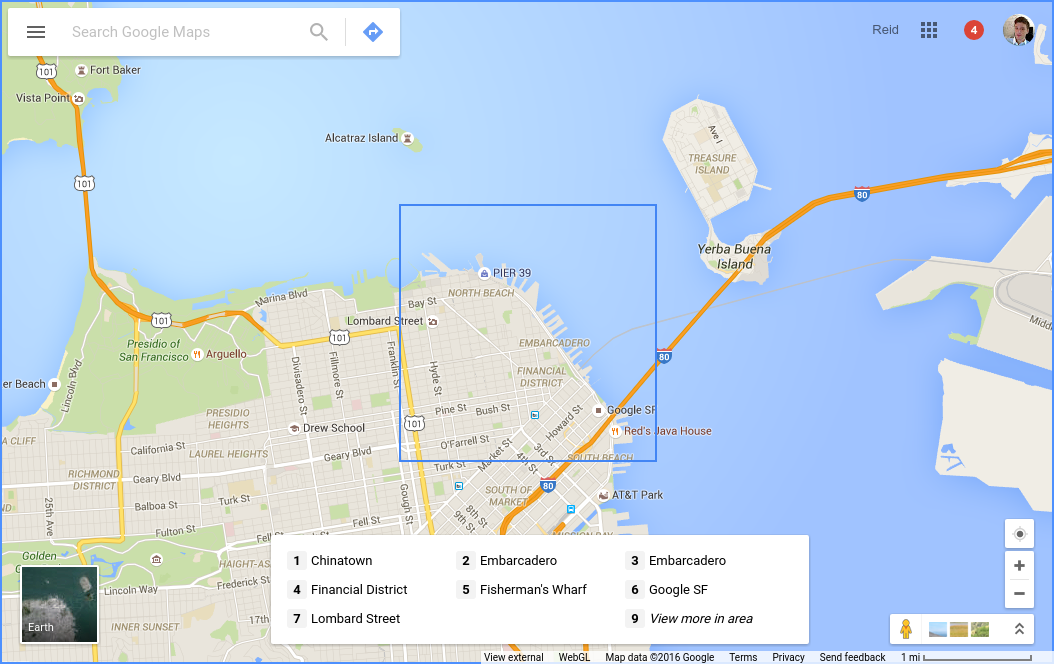 Google maps adds keyboard navigation controls click for full size gumiabroncs