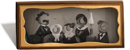 Louis Daguerre Google Logo