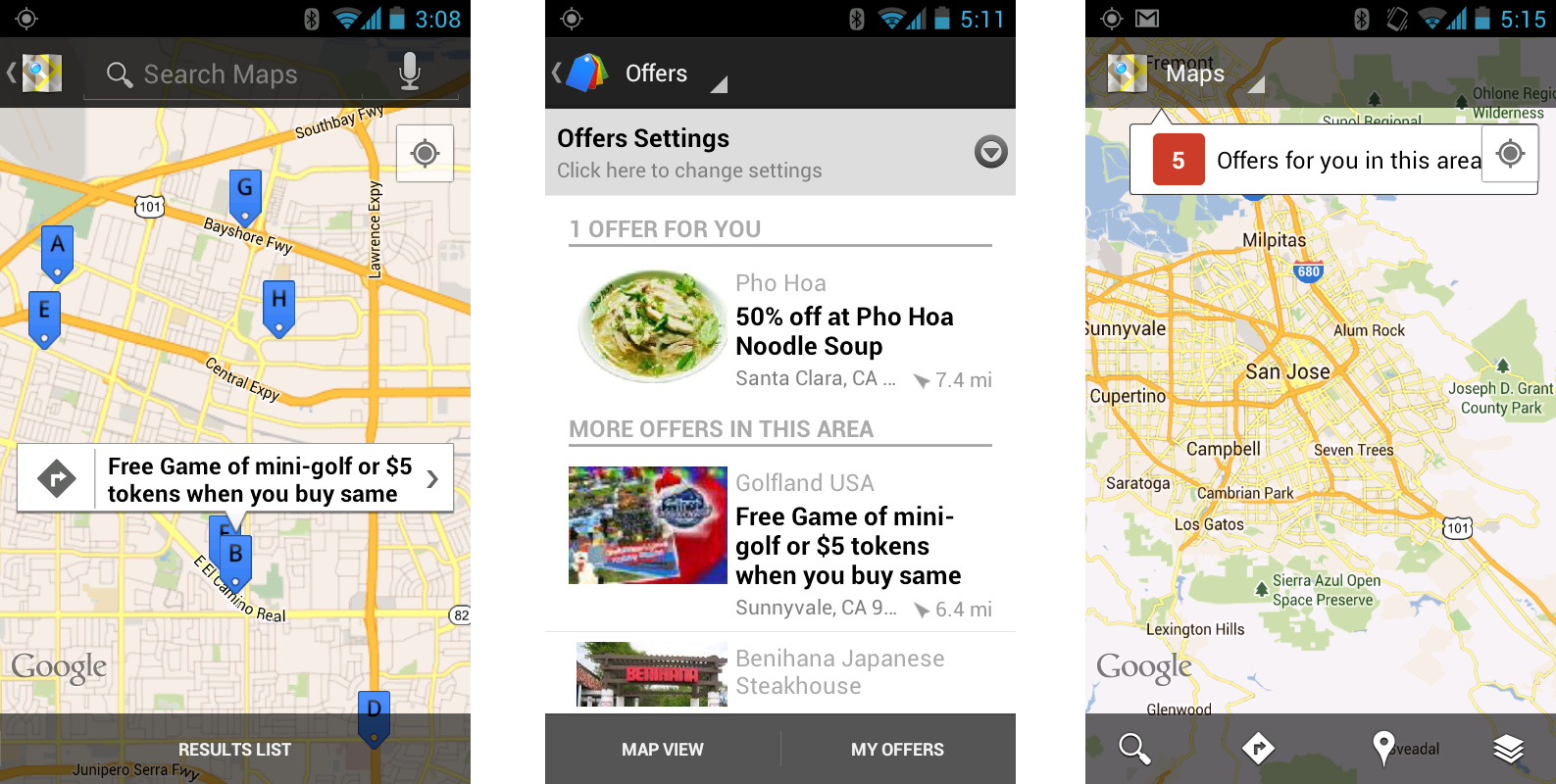 Google Maps For Android 6 7 Adds Local Offers Indoor Maps