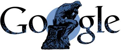Google Auguste Rodin Logo