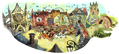Google's Royal Wedding Logo