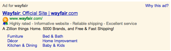 Google AdWords With Trusted Stores Badge