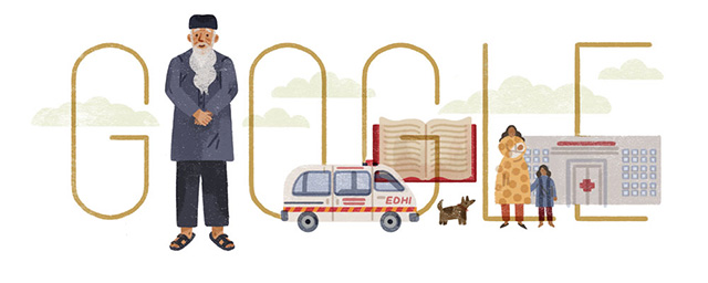Google Logo For Abdul Sattar Edhi