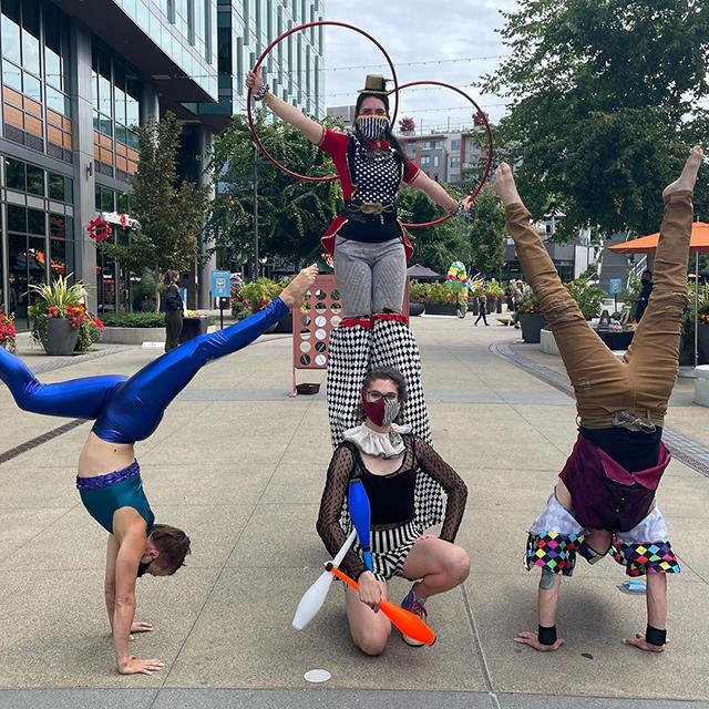 Acrobats At Google Kirkland