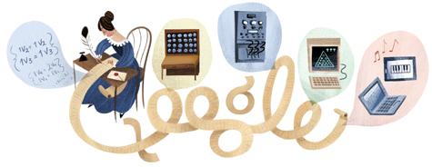 Ada Lovelace Google Logo