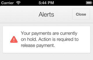 Google AdSense iOS App Alerts