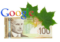 Google AdSense Canadian Dollar