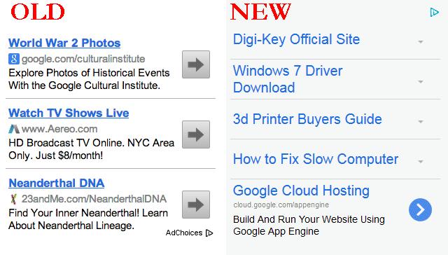 Google AdSense New Formats