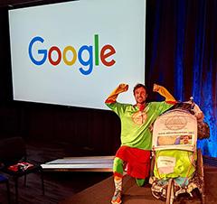 Adventureman Talks At Google New York