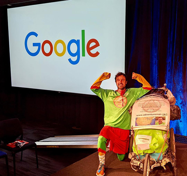 Adventureman Talks At Google NYC