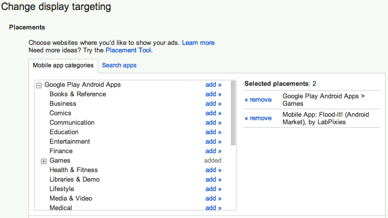 Google AdWords Adds AdMob Network Targeting For Mobile Apps