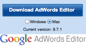 Google AdWords Editor 9.7.1