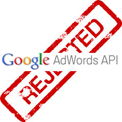 AdWords Rejection