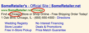 AdWords Dynamic Location Insertion