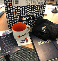 Just Some Ahrefs Swag
