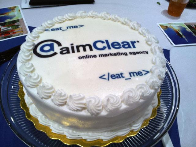 aim clear cake