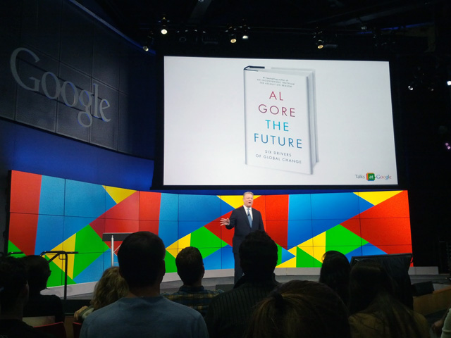 Al Gore At Google On The Future