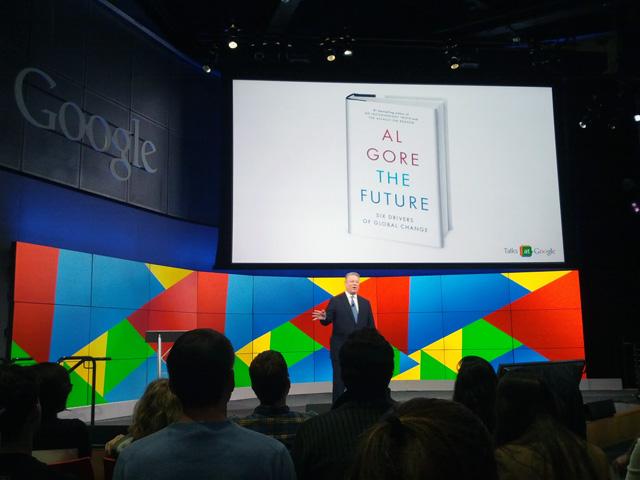 Al Gore At Google On The Future
