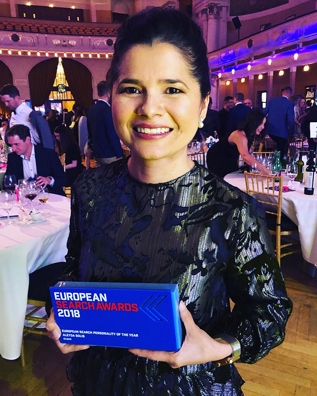 Aleyda Solis Wins European Search Personality Award
