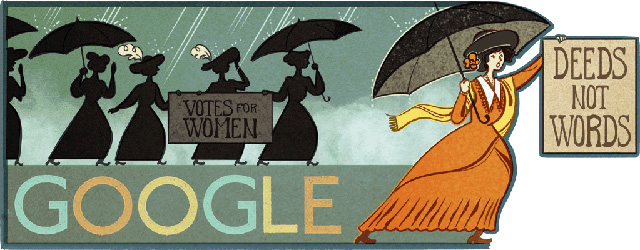 Google Logo For Alice Paul