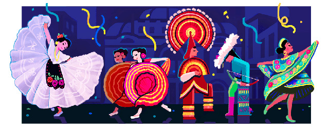 Google Logo For Amalia Hernandez