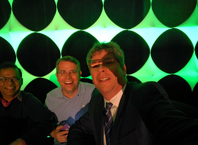 Search Geek Selfie: Amit Singhal, Matt Cutts & Danny Sullivan
