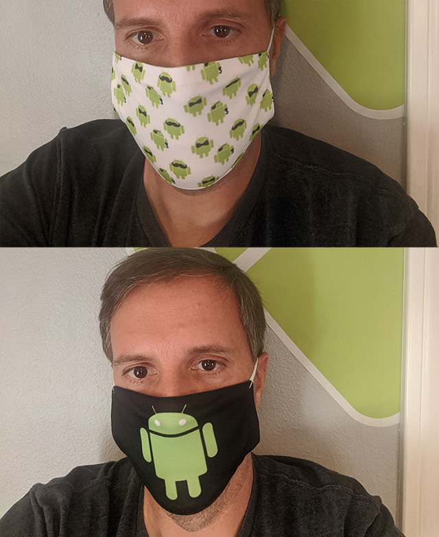 Android Face Masks