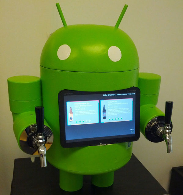 Android Beer Dispenser