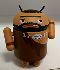 Google Android Caveman Character