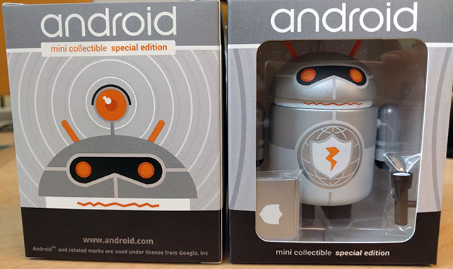 Android Google Edition Figurine For Product Safety