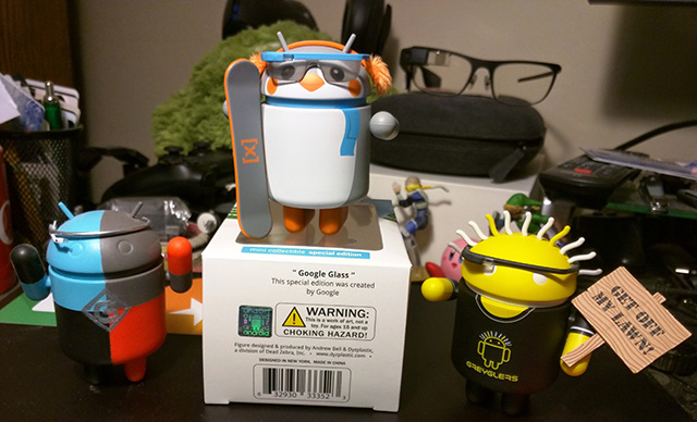 Android Google Glass Penguin