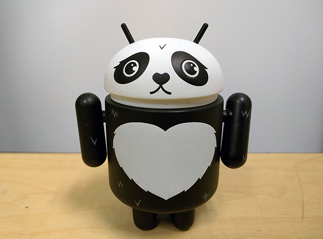 Android Google Panda Toy