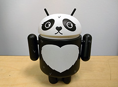 Android Google Panda Waiting For Me