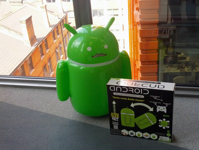 Android Inflatable Robot