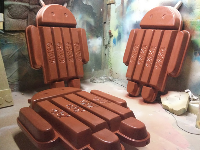 Making Of KitKat Android Statue