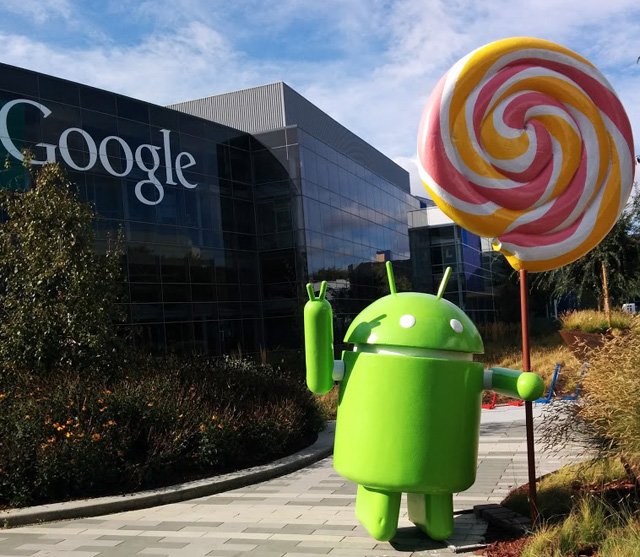 Android Lollipop Statue Now At Google