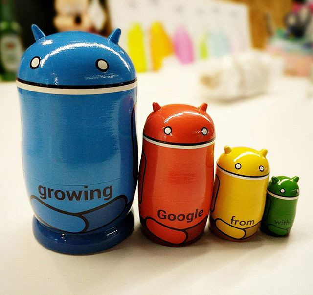Android Matryoshka Dolls