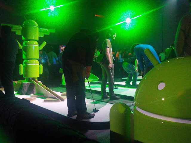 Android Miniature Golf